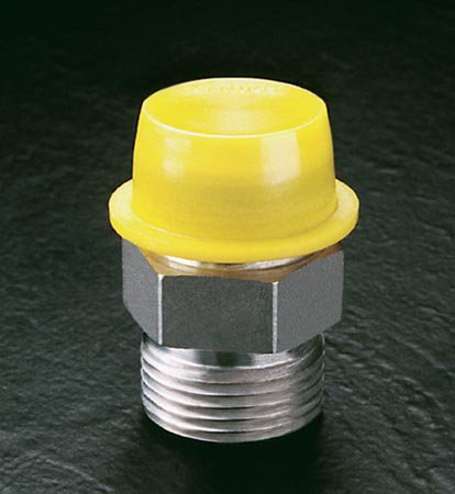 Tapered Caps & Plugs with Wide, Thick Flanges